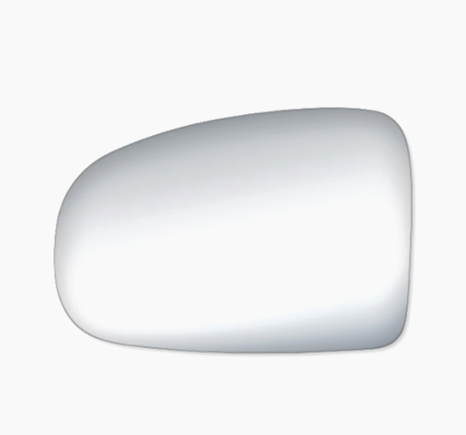 Fits 10-15 Prius Left Driver Mirror Glass Lens w/Silicone    also Plug-in
