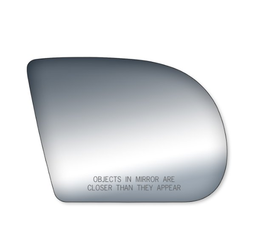Fits 99-04 S10 / S15 Right Passenger Convex Mirror Glass Lens  w/ Silicone