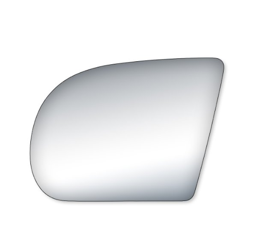 Fits 99-04 S10 / S15 Left Driver Side Mirror Glass Lens  w/ Silicone