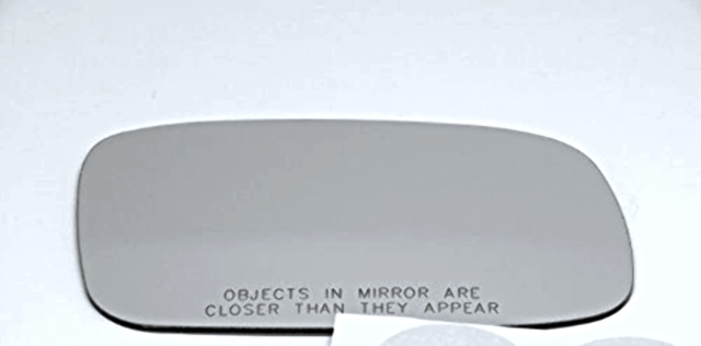Fits 97-01  ES300 Right Pass Convex Mirror Glass Lens w/ Silicone