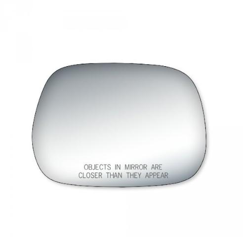 Fits 01-03 Rav4 Right Passenger Convex Mirror Glass Lens  w/Silicone