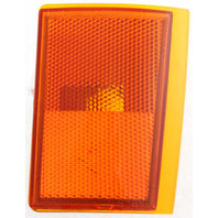 C/K SERIES PU 88-93 FRONT SIDE MARKER LAMP LOWER RH, Lens and Housing, w/ Composite Dual Head