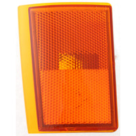 C/K SERIES PU 88-93 FRONT SIDE MARKER LAMP LOWER LH, Lens and Housing, w/ Composite Dual Head