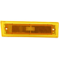 SUBURBAN 81-91 FRONT SIDE MARKER LAMP RH, Lens and Housing, w/o Chrome Trim