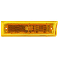 SUBURBAN 81-91 FRONT SIDE MARKER LAMP LH, Lens and Housing, w/o Chrome Trim