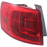 BAP Fits 13-14 VW Jetta Hybrid Left Driver Tail LAMP Quarter Mounted W/O LED Light