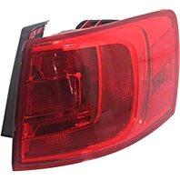 BAP Fits 13-14 VW Jetta Hybrid Right Pass Tail LAMP Quarter Mounted W/O LED Light