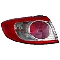 Fits 10-12 Hy Santa Fe Left Tail Light Assembly Outer Qtr. Body Mounted