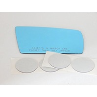VAM Fits 1996-1999 MB S Class, SL Class Right Passenger Convex Mirror Glass Lens w/Silicone