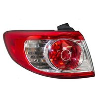 Taillight Tail Lamp Driver Replacement for 10-12 Hyundai Santa Fe SUV 92401-0W500