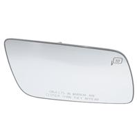 Fits 09-12 Fd Flex Heated Right Pass Mirror Glass w/Holder OE
