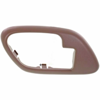 Fits  GM Trucks SUV Interior Door Handle Bezel Brown Left for Manual Locks
