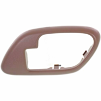 Fits  GM Trucks SUV Interior Door Handle Bezel Brown Right for Manual Locks