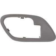 Fits  GM Trucks SUV Interior Door Handle Bezel Grey Left for Manual Locks