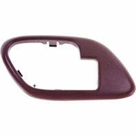 Fits  GM Trucks SUV Interior Door Handle Bezel Red Left for Manual Locks