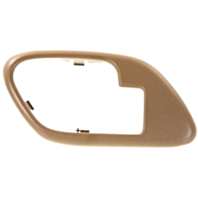 Fits  GM Trucks SUV Interior Door Handle Bezel TAN Left for Manual Locks