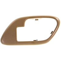 Fits  GM Trucks SUV Interior Door Handle Bezel TAN Right for Manual Locks