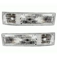 Aftermarket Fits 95-05 Astro & GM Safari Left & Right Park/Signal Lamps (Pair)
