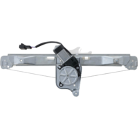 For 08-12 Malibu 07-10 Aura Rear Driver Window Regulator With Motor