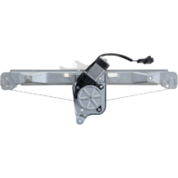 For 08-12 Malibu 07-10 Aura Rear Passenger Window Regulator With Motor
