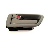 VAM Fits 97-01 Camry Left Driver Side Front/Rear Interior Door Handle w/Bezel Beige