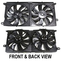 Aftermarket Dual Cooling Fan Assembly, Fits 00-05 Lesabre, 00-05 Pont Bonneville
