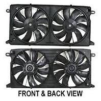 Aftermarket Dual Cooling Fan Assm for 00-05 Deville 01-03 Aurora