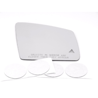 Fits MB GLE, GLS Models Right Pass Mirror Glass Lens w/ Blind Spot Icon*