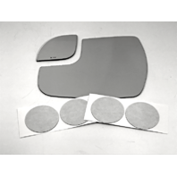 Fits 15-18 Sienna Left Driver 2 Piece Mirror Glass Lenses Set as pictured