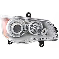 Fits 08-14 Town & Country Right Pass HID Headlamp (w/Out HID Kit or Smart Beam)