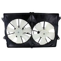 Aftermarket Dual Cooling Fan Assembly Fits 04-06 Pacifica