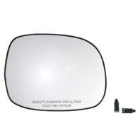 Fits 00-06 Tundra 01-07 Sequoia SRS Right Pass Convex Heat Mirror Glass w/Holder