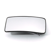 Fits 13-16 Super Duty F250 F350 F450 Left Driver Lower Mirror Glass w/Holder