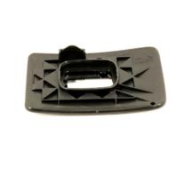 Fits 08-12 Super Duty F250 F350 F450 Right Pass Lower Mirror Glass w/Holder