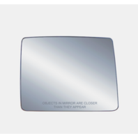 Fits 04-14  F150 Right Pass Upper Dual Arm Tow Mirror Glass w/ Rear Holder