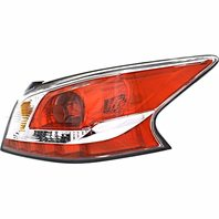 BAP Fits 13-15 Altima Sedan Right Pass Tail LAMP ASSM with Grey Edge Trim