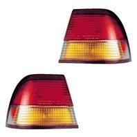 BAP Fits 97-99 Maxima Left & Right Tail Lamp/Light Quarter Mounted - Set