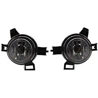 BAP Fits 05-06 Altima Excludes SE-R 04-06 Quest Left & Right Fog Light Assembly-Set