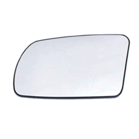 Left Driver Mirror Glass w/Holder for 07-12 Altima Sedan, 08-13 Coupe w/Signal