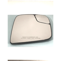 Right Pass Mirror Glass w/Holder for 13-17 Nis NV200 15-17 Chevy City Van