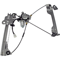 Fits 03-09 Nissan 350Z Driver Front Power Window Regulator with Motor 6Pin Connector