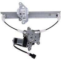 For 07-12 Altima Sedan 09-14 Maxima Rear Driver Window Regulator With Motor