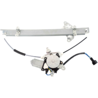 For 01-04 Pathfinder 01-03 QX4 Front Right Passenger Window Motor & Regulator With Anti Pinch (6 Pin Connector)