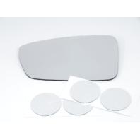 Fits 10-15 Hy Sonata Hybrid Left Driver Mirror Glass Lens w/ Adhesive