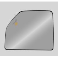 For 15-18 F-150 Left Mirror Glass Upper Heated w/Blind Spot Detect & Holder