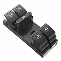 Driver Master Window Switch Left 5 Button 10 Pin for Various VW Models