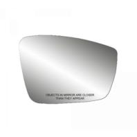 Fits VW Beetle Jetta Passat Right Pass Mirror Glass Heated w/Rear Back Plate