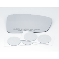 Fits 10-15 Hy Sonata Hybrid Right Pass Mirror Glass Lens w/ Adhesive