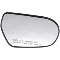 For 05-09 Outback Legacy Right Pass Heated Mirror Glass w/Holder w/out Signal
