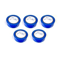 """5 Rolls Molding Tape - All Weather, No Residue - 2"""" x 108' Blue"""